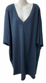 Comfy jurk blauw