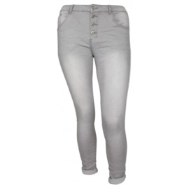 Place du Jour jeans grijs