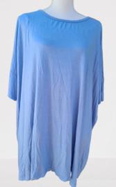 Shirt Roos knopen achterzijde zwart of blauw