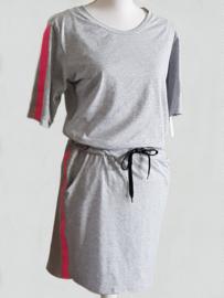 Jogging jurk Chantal grijs