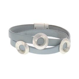 Armband Biba met blauw