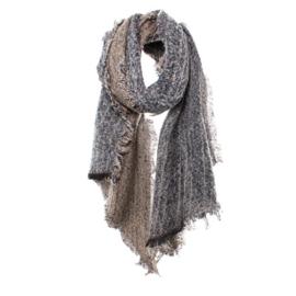Biba sjaal beige blauw