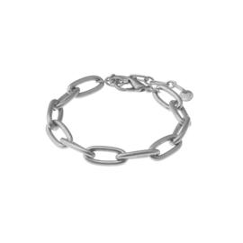 Biba armband schakel zilverkleur