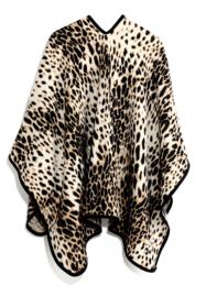 Poncho panter bruin