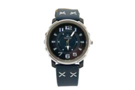 Horloge cross blauw