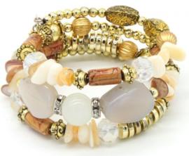 Armband met stenen