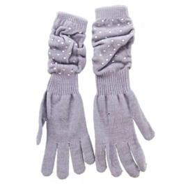 Handschoenen Marilyn lichtgrijs