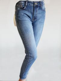 BS jeans met steentjes