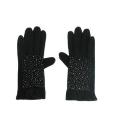 Handschoen studs zwart