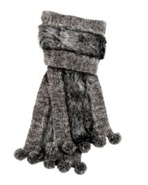 Sjaal Cozy grijs