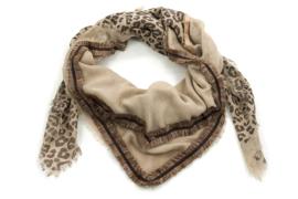 Sjaal natuur bruin