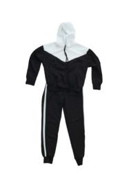 Home-suit zwart/wit