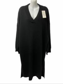 Gebreide jurk Sascha zwart