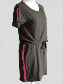 Jogging jurk Chantal groen