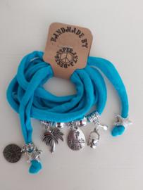 Ibiza armband caribean blue