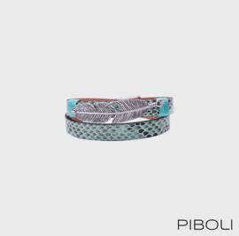 Armband met veer