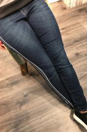 Karostar jeans met zijstreep