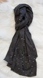 Sjaal parel grijs