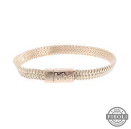 Biba chain bracelet rosé goud