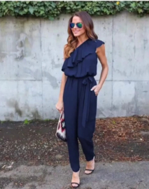 Jumpsuit one shoulder