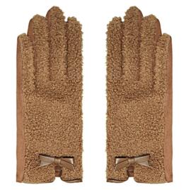 Handschoen Teddy bruin