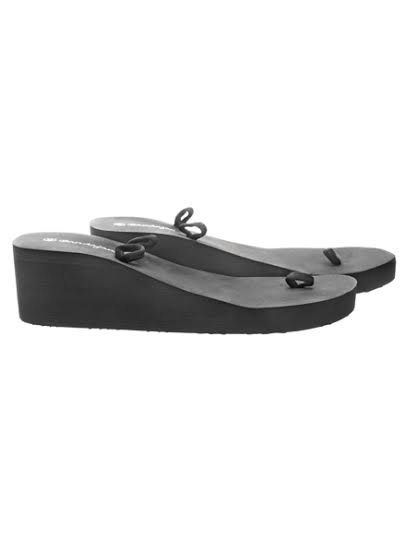 Slipper medium zwart