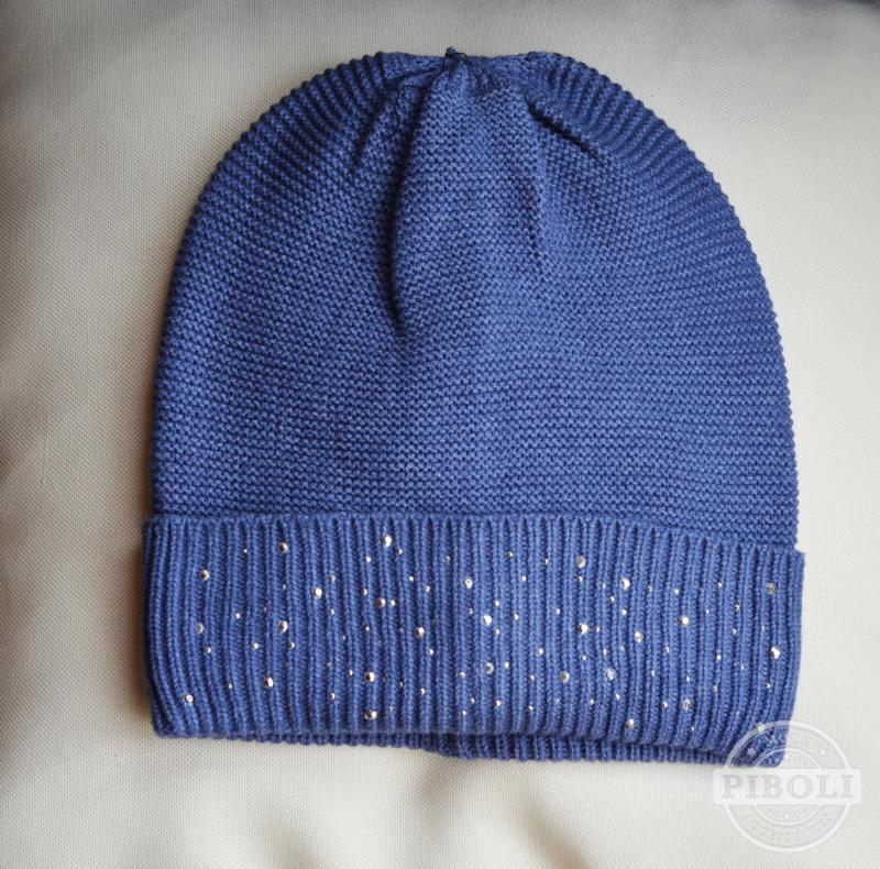 Muts studs blauw