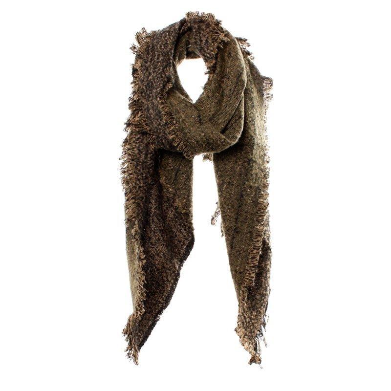Sjaal Biba beige zwart
