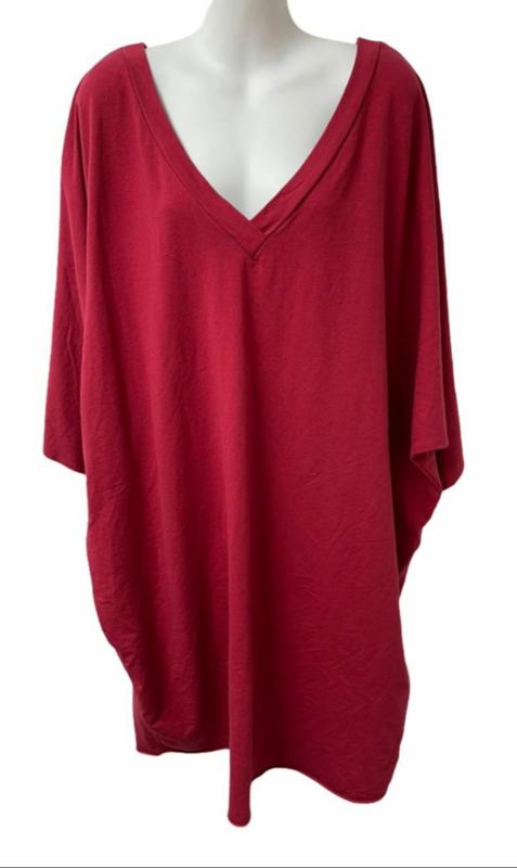 Comfy jurk rood