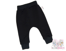 Baggy broek Basic Zwart