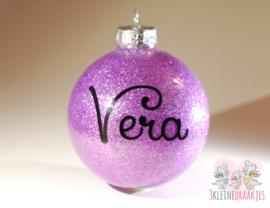 Kerstbal naam (glas)