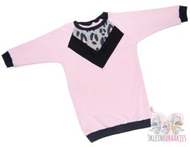 "Sweaterdress ""Safari"" Collection Roze"