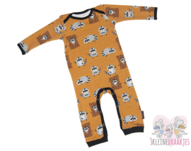 Jumpsuit Raccoon Oker
