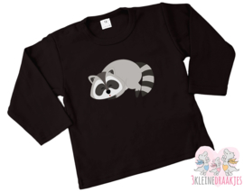 Shirt Raccoon Sleepy