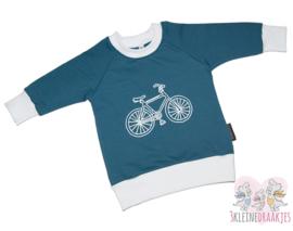 Sweater Bike Blauw