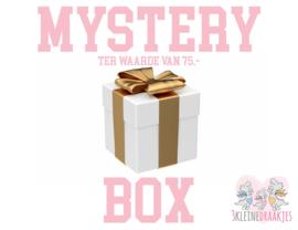 Mysterybox t.w.v. €75