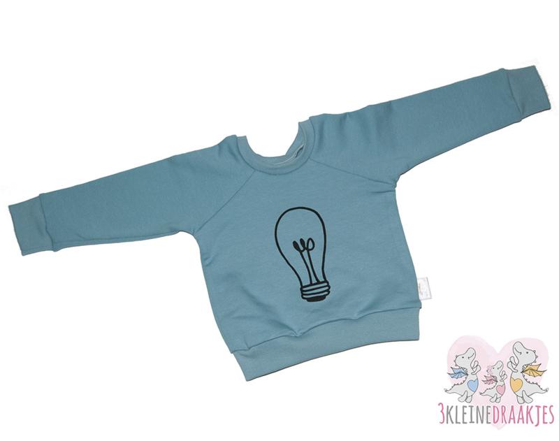 Sweater Lamp Blauw