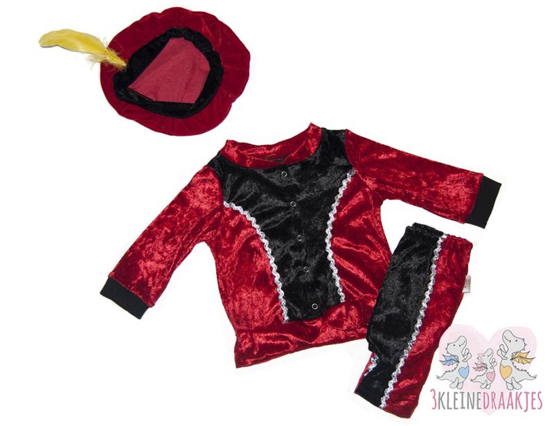Pietenpak baby/peuter Rood (Pre-order)