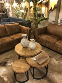 3-delige salontafelset Hugo 4cm bladdikte