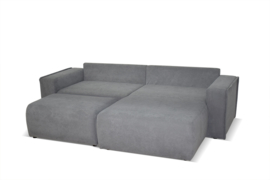 Loungebank Gina incl. losse poef