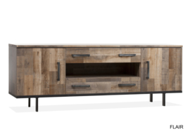 FLY DRESSOIR 2DR/2LA/1 BREED LAMULUX