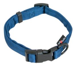 Comfort Tube Nylon hondenhalsband Blauw XS