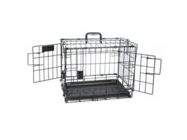 Voyager Wire Crate 2 doors 46x30x35,6 cm - XS