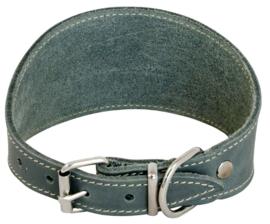 Windhondhalsband Grijs 37cm