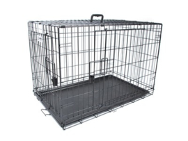 Voyager Wire Crate 2 doors 91,5x58,5x63,5 cm - L