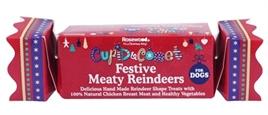 Festive Meaty Reindeers kerstcracker