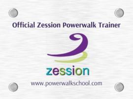 Deurbord Official Zession Powerwalk Trainer