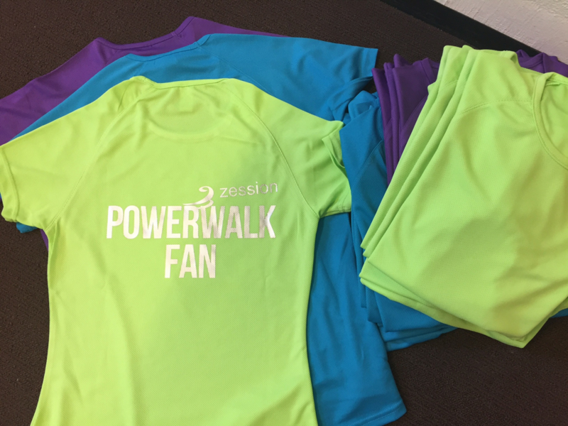 ZessionShirt PowerwalkFan Dames getailleerd