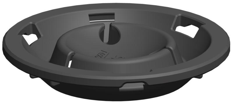 Verlengstuk voor terrasdragers van 17-23 mm- verlengt 5 mm