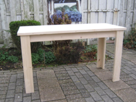 Sidetable van nieuw steigerhout 60 cm breed